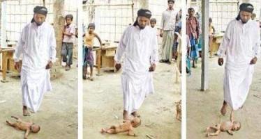 musulman-golpea-bebe